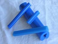 Muestra de perfil en Color I-Azul Vivo (Color Estándar)