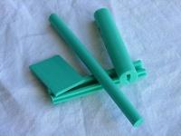Muestra de perfil en Color K-Verde Turquesa (Color Estándar)