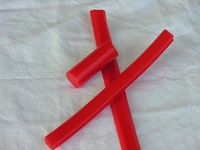 Muestra de perfil en color L-Rojo (Color Estándar)